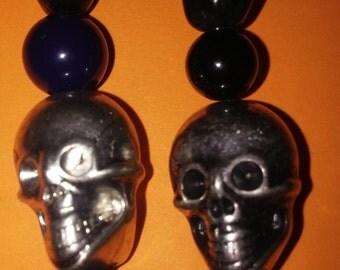 Deep Dark Cave Earrings