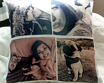 Personalised Multi-Photo Collage Cushion