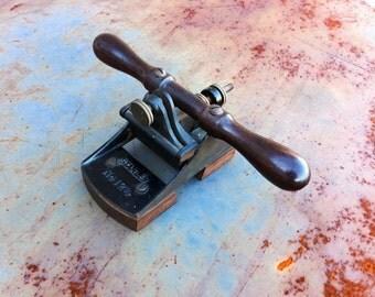 Rare Stanley No. 12 3/4 scraper excellent condition, no blade