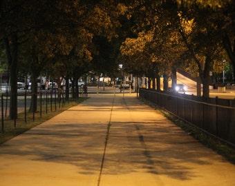 Empty Sidewalk Photo