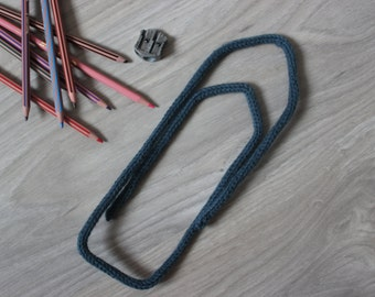 Trombone decoration knitting wool