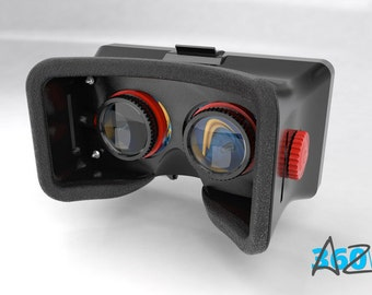 3D printable VR Headset for smartphones