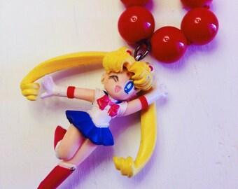 Vintage rare Sailor Moon pendant necklace