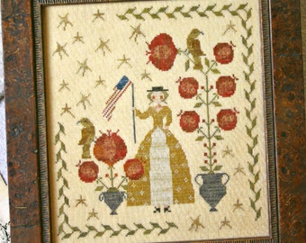 Stars & Stripes by Country Stitches Counted Cross Stitch Pattern/Chart
