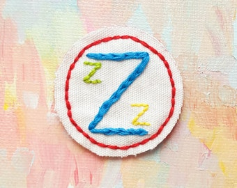 Team Zissou - Life Aquatic by Wes Anderson - Hand Embroidered Patch