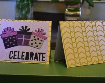 Handmade Birthday Cards (set of 2)