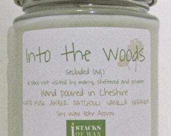 Into the Woods - 30hr Jar Candle