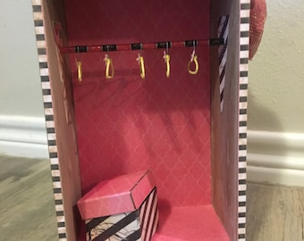 Ooak Doll Wardrobe/Closet/Armoire/Furniture for Blythe or other 1:6 sized dolls