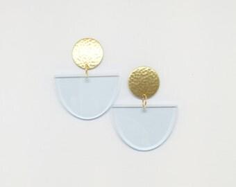 Noodle Bowl Waterfall Earrings
