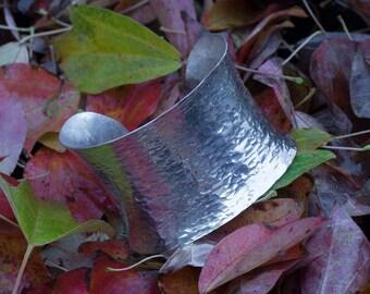 WIDE Anticlastic Sterling Silver Cuff, bangle, bangles, silver bangle, silver bangles, silver bracelet, bracelet, silver, sterling silver