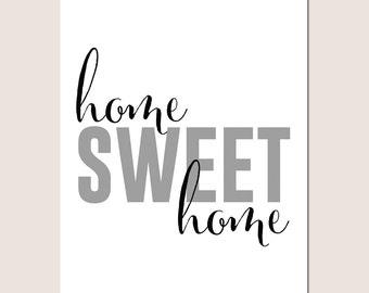 Home Sweet Home Digital Download