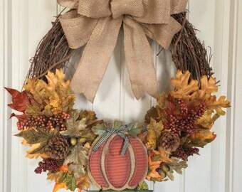 Welcome Autumn Wreath