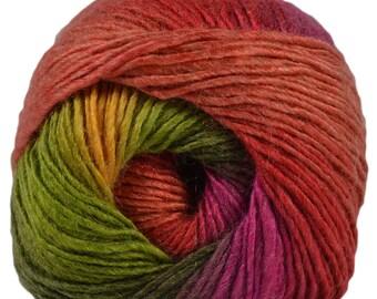 King Cole Riot DK 100g Acrylic Wool Blend Multi Coloured Knitting Yarn