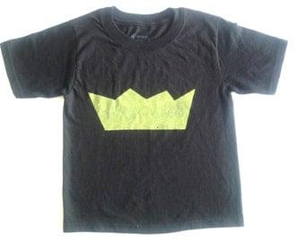 Toddler Screenprinted T-Shirt: My Tee Crown