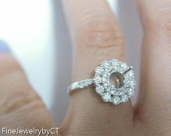 18k Sunflower Ring