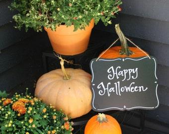 Happy Halloween Hanging Chalkboard