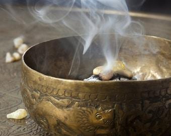 Sweet Myrrh (Opopanax) Resin for Incense 1 or 2 ounces