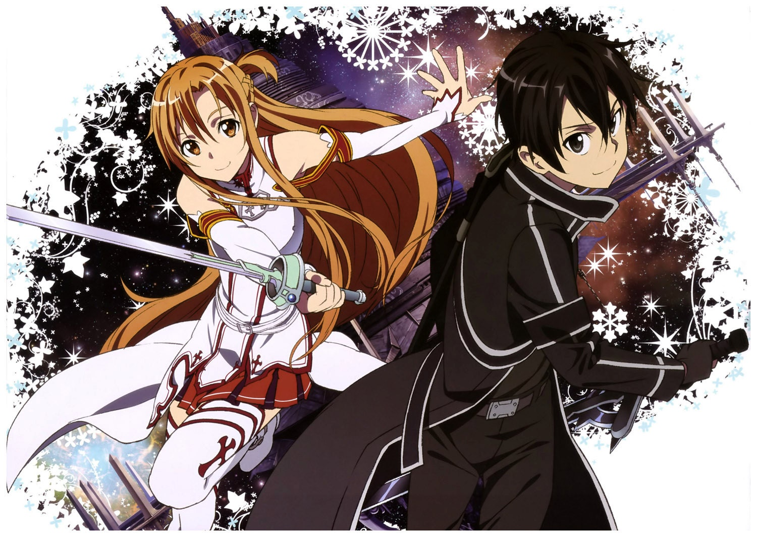 Calendar Sword Art : Wall calendar pages a sword art