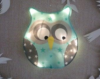 Little night owl Mint to water light