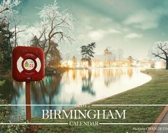 Birmingham UK Calendar 2017 by Owen de Visser