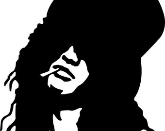Slash Guns N Roses Vinyl Decal Tons of colors to pick from, LONG LASTING, Easy Application