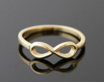 INFINITY 14 k gold ring