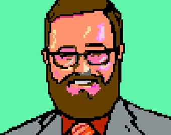 Custom Pixel Portrait