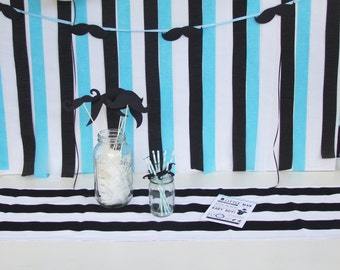 Mustache Party Kit for Baby Shower or First Birthday Party