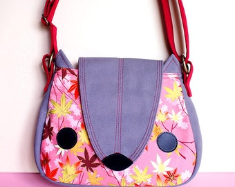 Sling Purse - Nutkin The Squirrel (Blush Autumn)