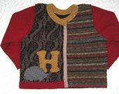 HEDGIE Cardigan, made form recycled wool sweaters 499 RESERVED