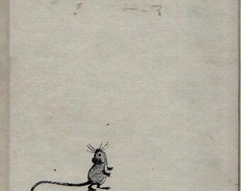 The Christmas Mouse - Elisabeth Wenning - Barbara Remington - 1959 - Vintage Book
