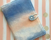 Ombre - Small Wallet - Business Card Holder / ID Case / Photo Holder -- Sunset