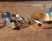 Deposit for opal ring