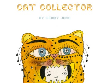 Zine: Cat Collector A Zine about Ladies Who Accumulate Cats