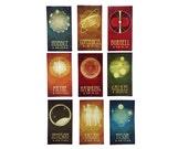 9 Astronomy Magnets, Astronomer Gift, Geek Fridge Magnets, Rock Star Scientists, Stephen Hawking, Galileo, Neil deGrasse Tyson, Hubble