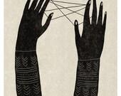 Jeu de Ficelle / Print / Poster
