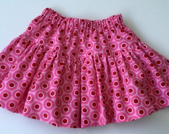 CORDUROY SKIRT - Girls Skirt - Drop Waist - Twirly Skirt - size S M  L - Back to School Skirt - 21 wale corduroy