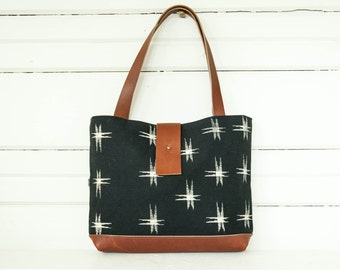 Kasuri Shoulder Bag