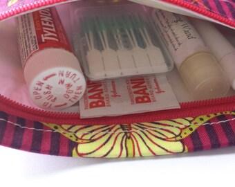 Reusable Zippered Snack Bag - Luna Moths