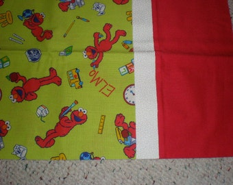 Elmo Print Standard Size Bed Pillow Case