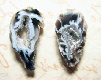Airies, Geode Slice Pair, small