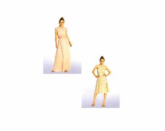 Misses Evening Dress Burda 7260 Sewing Pattern Size 6-8-10-12-14-16-18 UNCUT