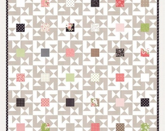 Candy Bar quilt pattern from Lella Boutique - charm pack friendly