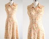 Vintage Pastel Balloon Print Dress