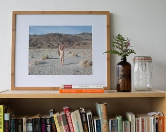 Death Valley Nude | Photography Art Print by Jackie Dives