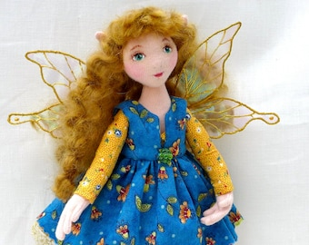 Cailynn - An OOAK Cloth Fairy Art Doll