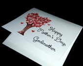 godmother mother's day card from adult- single card