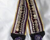 SALE - Afghan belt, Kuchi belt, coin belt, tribal belt, belly dancing belt, hippie belt, beaded belt, handmade belt