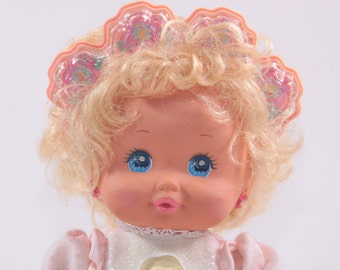 Baby PJ Sparkles - Vintage 1980s Doll - Not Working
