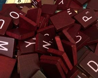 100 Scrabble Letter Tiles